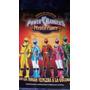 Album Power Rangers Mistic Force 4 Pegadas,impecable