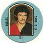 Figurita Newell´s Campeones 1976 Redonda Futbol Robles