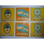 Figuritas Antiguas Simbolos Patrios Nacionales-lote De 6 Uni