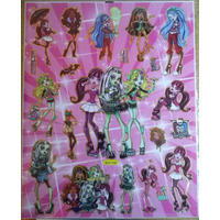 Stickers Violetta Frozen Monster High Mundo Gaturro Y Mas!!!