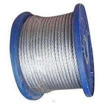 Cable De Acero Galvanizado (6x19x+1) # 8 Mm.
