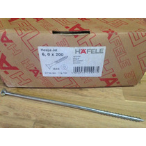 Tornillo Hafele 20 Cm Largo (200mm) Cod: 017.90.392
