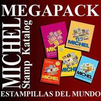 Megapack Michel Stamp Katalog Catalogo Mundial Estampillas