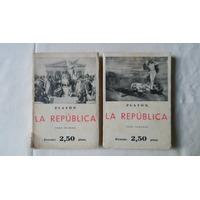 La República / Platón Tomo 1 Y 2