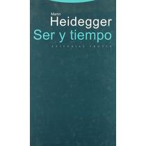 Ser Y Tiempo Martin Heidegger Editorial Trotta