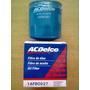 Filtro Aceite Acdelco Corsa/astra/agile/meriva/fun/aveo