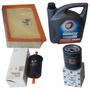 Kit De 3 Filtros + Aceite Total Peugeot 206 Rc 2.0 Nafta Pw