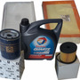 Kit 4 Filtros + Aceite Total Citroen C5 2.0 Hdi 110hp 02/05