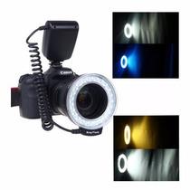 Ring Flash E Iluminador Anular Para Macro Nikon, Canon Y Mas