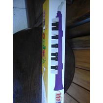 Flauta Melodica Larga Con Notas Marcadas