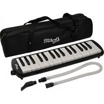 Pianica Melódica Stagg Melosta 32 Bk Con Funda Nueva
