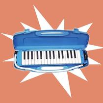 Melodica 32 Notas Con Estuche Plastico Rigido