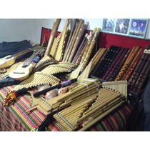 Instrumentos De Vientos En Bambu Y Madera Ebano Acaranda Et