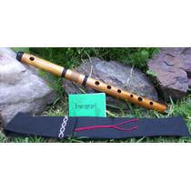 Bansuri En Do Bajo En Sol - Flauta Traversa Hindú