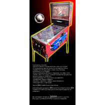 Virtual Pinball 40/26 Flipper Digital Arcade Mame Multijueg