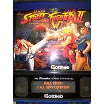 Flipper Street Fighter Ii