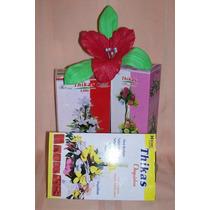 16 Pares Moldes Para Hacer Flores C/ Goma Eva - Mini Lir Orq