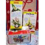 10 Pares Moldes Para Flores Goma Eva - Calas Orquideas Y Lir