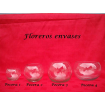 Lote De10 Peceras1 De Vidrio - Bochines - Bochas -cilindros