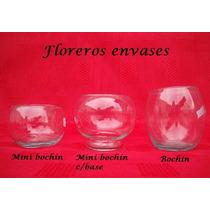 10 Mini Bochines De Vidrio - Bochines - Bochas