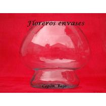 5 Copones Bajo De Vidrio - Bochines - Bochas - Cilindros