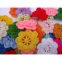 Flores Al Crochet Iii (pack De 10 Unidades)