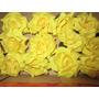 Prendedores De Rosa-flores De Tela