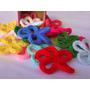Flores Al Crochet V - Pack De 10 Unidades