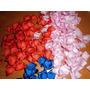 200 Petalos De Rosa En Tela De Raso De Primera Calidad