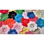 Flores Tejidas Crochet (pack De 10 Unidades)