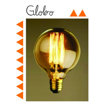 Foco Edison ( Carbono - Filamento )