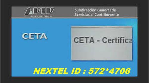 Formulario Afip Ceta Seta Compra Venta Auto Moto Automotor