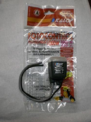 Fotocontrol Electron.1000w Kalop Paratodo Tipo De Lampara