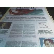Diario Perfil 1998 Crecida Rio Parana Desastre Fotografiado