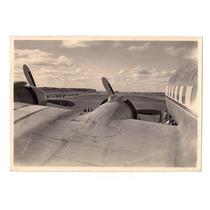 Antigua Foto De Avion Aeronautica Aviacion