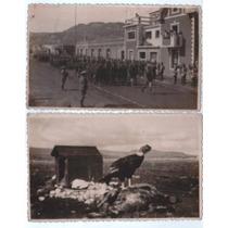 Lote Fotos Patagonia 1944 Còndor Carrera Sortija Desfile