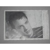 Foto Autografiada Ricardo Passano Actor Argentino