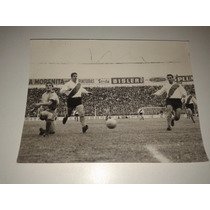 Foto Original Archivo Atlanta Vs River 1964