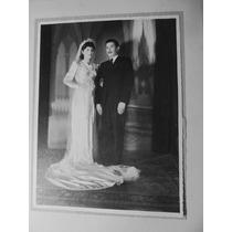 El Arcon Antigua Fotografia Blanco Negro Casamiento 1930 129