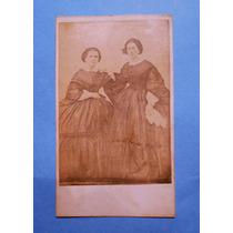 Fotografia Antigua Carte De Visite Argentina 1881