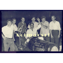 A-52 Auto De Carrera Piloto Campeon Foto 1960/70