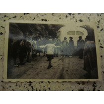 Antigua Fotografía Colectivo Viejo Danza Baile 7 X 4,5