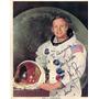 4 Fotos Originales Astronautas Apolo 11 - Autografiadas-nasa