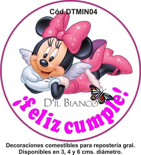 Fototortas Dil Bianco Láminas Minnie -mickey-disney Bebé - $ 58,00 ...