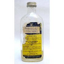Antiguo Frasco De Alcohol ¨agarol¨