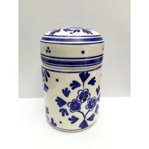 Porcelana Holandesa Delft Frasco Azul Blue Mika Pao