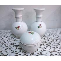 Juego De Tocador Vintage Porcelana Almacen De Objetos