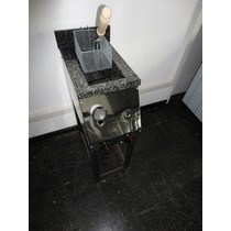 Freidora Industrial 10lts. 1 Canasto Nuevas De Fabrica
