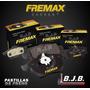 Jgo.pastillas Freno Fremax Delantero Fiat Idea 1.4 - 1.8 Cc