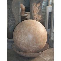 Fuente De Agua Esfera, 30cm, Impactante